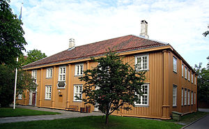 Frostating Court of Appeal - The former court building at Kalvskinnet in Trondheim