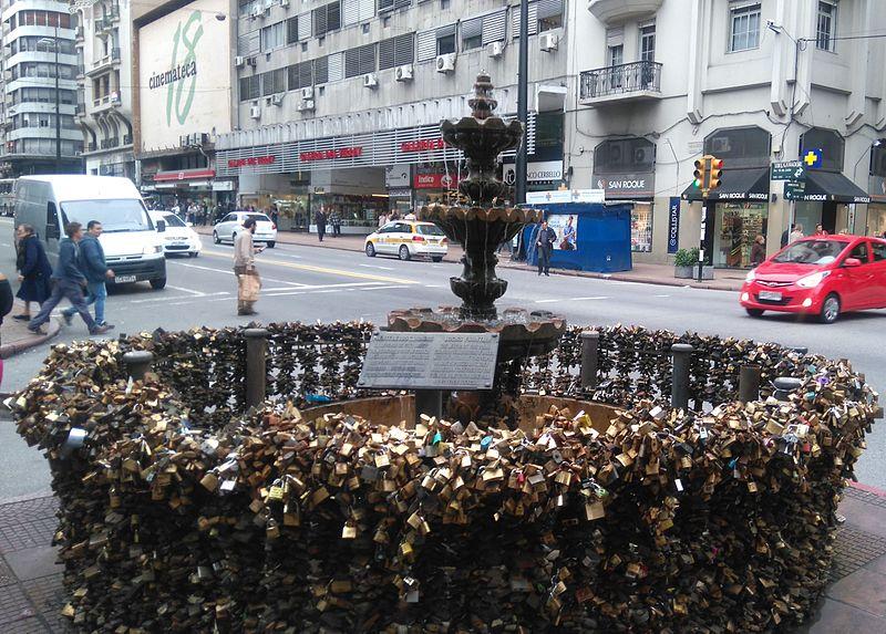 Lugares românticos em Montevidéu