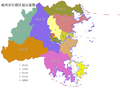 Fuzhou Districts Map.png