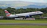 G-LCYV British Airways Embraer E190 (36256226741).jpg