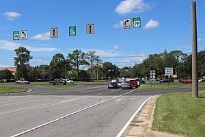 Georgia State Route 122 - GA 122 End at US 19 in Thomasville