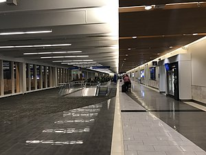 Greenville–Spartanburg International Airport - View of Concourse B post renovation