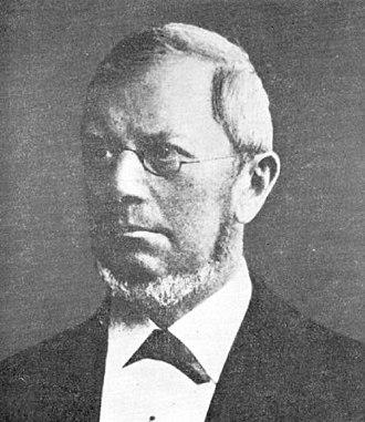 Gustav Spörer - Portrait of Gustav Spörer.