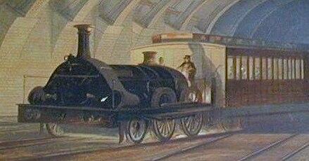 GWR broad gauge Metropolitan Class
