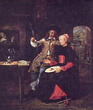 1661 in art - Image: Gabriel Metsu 005