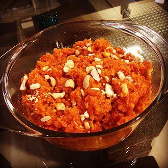 Gajar ka halwa - Image: Gajjar ka halwa (carrot halwa)