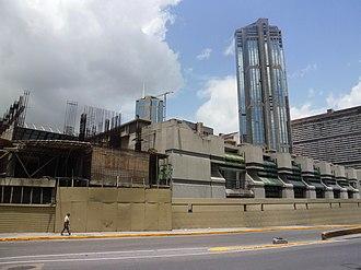 National Art Gallery (Caracas) - Eastern façade of the gallery.