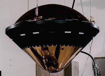 Sonda Galileo durante l'assemblaggio finale