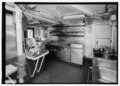 Galley, looking aft. - U.S. Coast Guard Cutter FIR, Puget Sound Area, Seattle, King County, WA HAER WA-167-17.tif