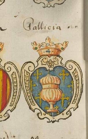 Gallicia in German Armorial