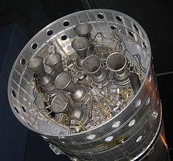 Gamma 8 rocket engine on Black Arrow 1st stage.jpg