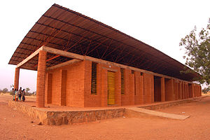 Education in Burkina Faso - Primary school in Gando, Burkina Faso
