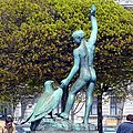 Ganymede by Hermann Hubacher, Lake Zurich, Switzerland - panoramio.jpg