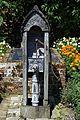 Garden water hand pump Walled Garden at Parham House, West Sussex, England.jpg