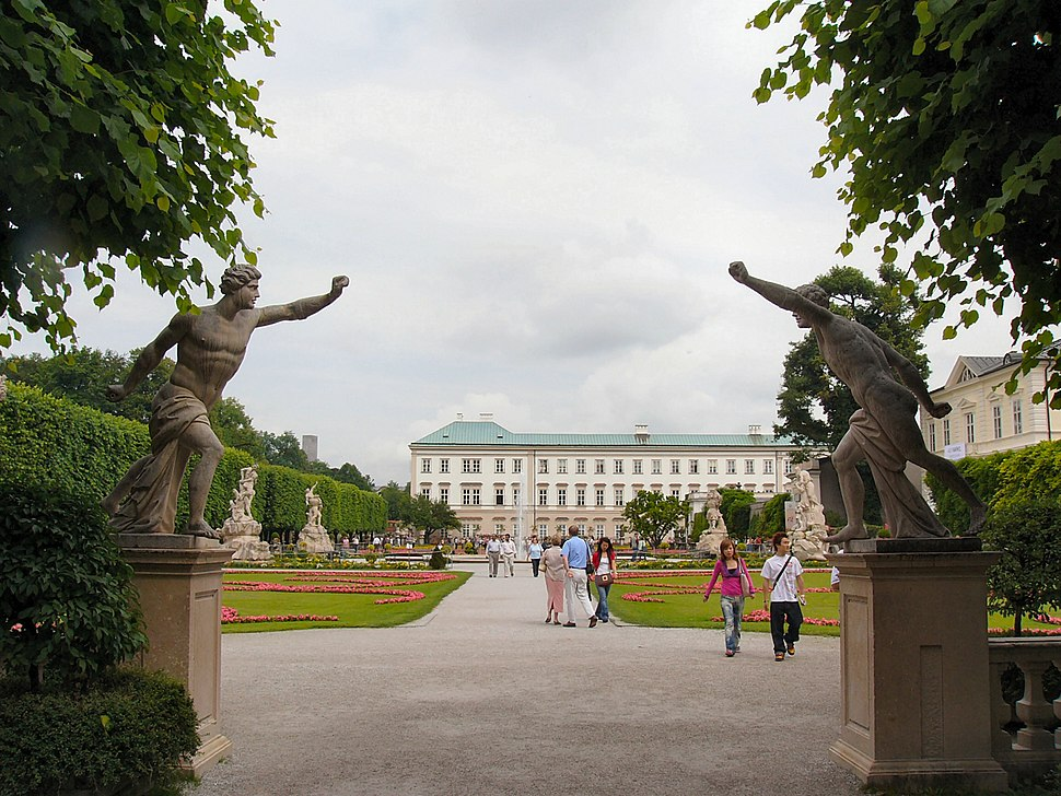 Gardens at the Palace of Mirabell
