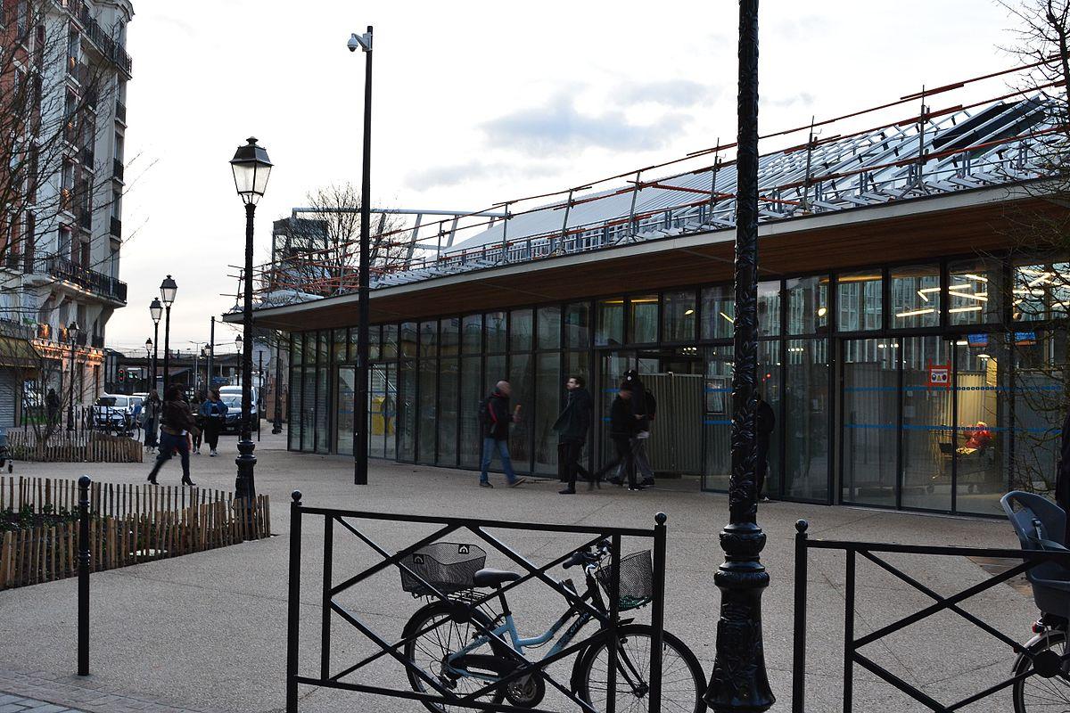 Que Mettre Avec Des Bruyeres gare de bécon-les-bruyères — wikipédia