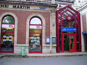 Image illustrative de l'article Gare de l'avenue Henri-Martin