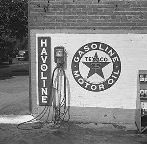 Havoline - Sign advertising Havoline (1935-1942)