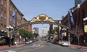 Gaslamp Quarter, San Diego - Image: Gaslamp Quarter 01