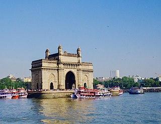 Gateway of India monument in Mumbai