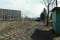 Gdańsk Orunia tor kolejowy w pobliżu ulicy Głuchej.JPG