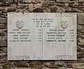 Gedenkpaneel. Locatie, Kerk van San Rocco met daaromheen de militaire begraafplaats in Peio Paese 03.jpg