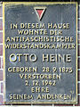 Gedenktafel Pankgrafenstr 8 (Pank) Otto Heine.jpg