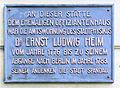 Gedenktafel Reformationsplatz 2 (Span) Ernst Ludwig Heim.JPG