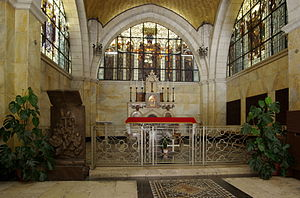 Church of the Flagellation - The altar of the church.