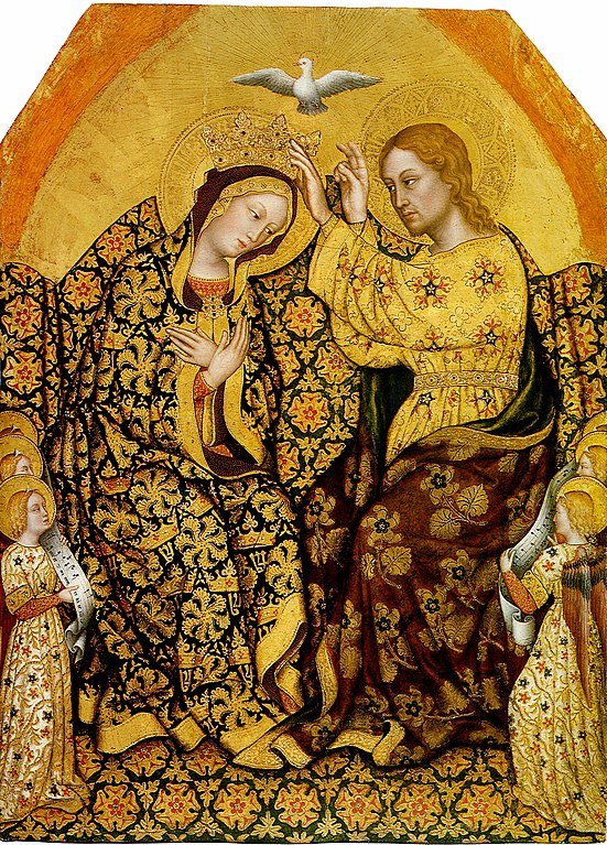 https://upload.wikimedia.org/wikipedia/commons/thumb/4/42/Gentile_da_fabriano%2C_Coronation_of_the_Virgin.jpg/551px-Gentile_da_fabriano%2C_Coronation_of_the_Virgin.jpg?uselang=fr