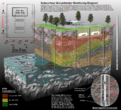 Geologic Section of USTs and Monitoring Wells.png