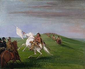 Comanche Meeting the Dragoons