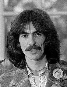 George Harrison visiting the Oval Office in 1974.