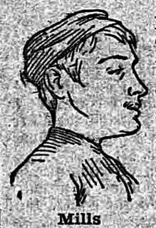 George Pilkington Mills English cyclist