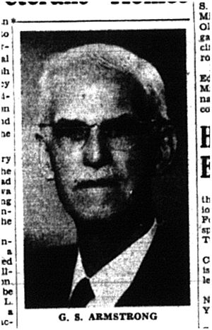 George S. Armstrong - Armstrong pictured in his later years