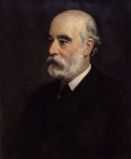George Murray Smith conceived of the DNB, subsidised it, and saw it finally into print before he died in 1901. George Smith by John Collier.jpg