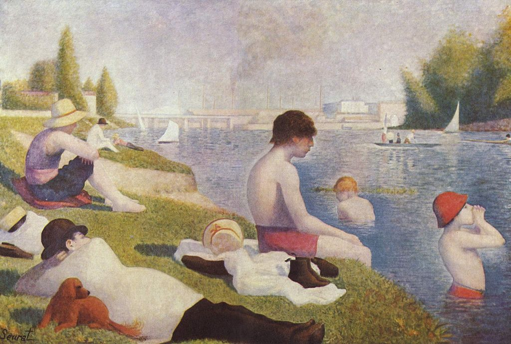 """""""Bathers at Asnières"""" byGeorges Seurat"""