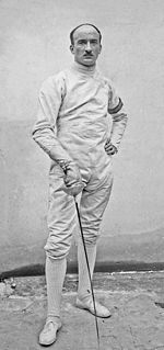 Georges Tainturier French fencer