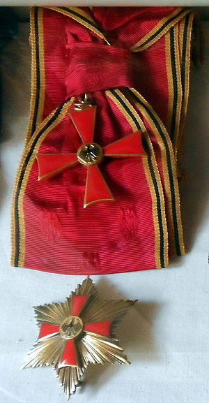 Order of Merit of the Federal Republic of Germany - Image: German Order of Merit Grand Cross First Class
