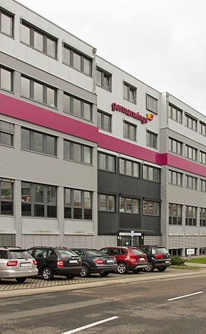 Germanwings - Germanwings' head office in Cologne
