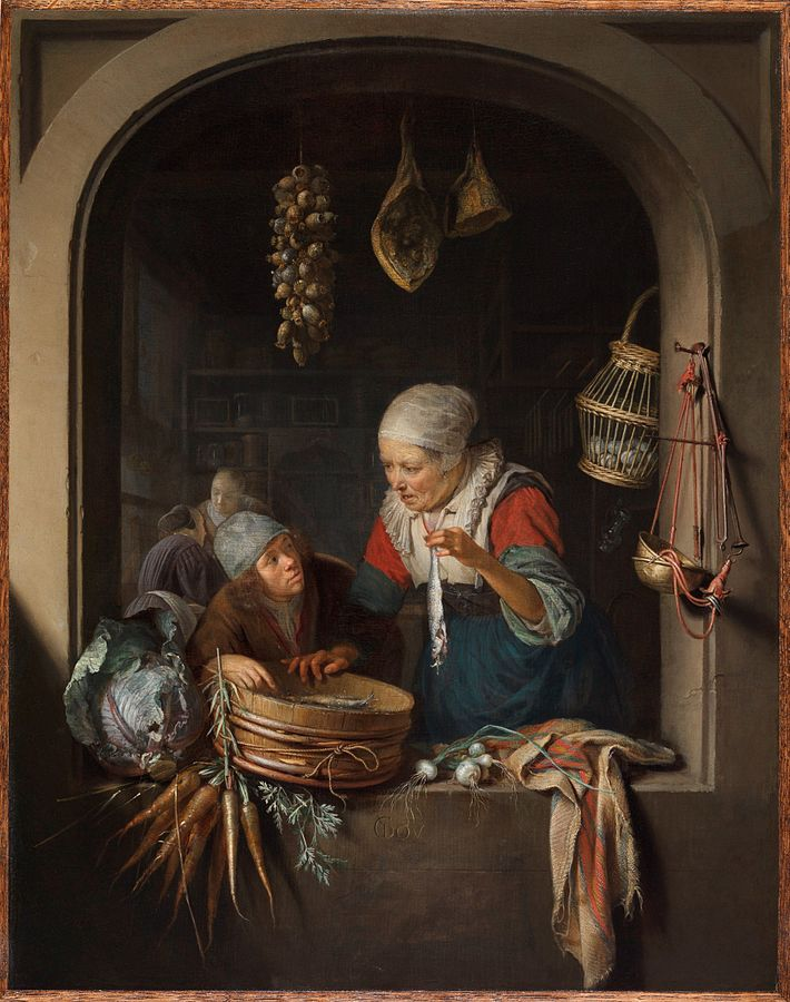 Herring Seller and Boy
