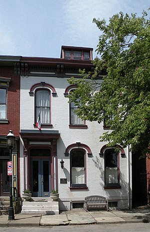 Gertrude Stein - Gertrude Stein's birthplace and childhood home in Allegheny West
