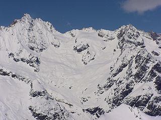 Grand Darray mountain in Switzerland