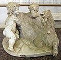 Gian lorenzo bernini, giove e un faunetto allattati dalla capra amaltea, 1609-15 ca. 01.JPG