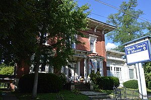 Jamestown, Pennsylvania - The Gibson House, a historic site in the borough
