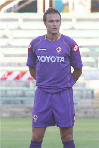Alberto Gilardino - Gilardino with Fiorentina in 2008