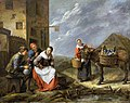 Gillis van Tilborgh – At the Door to the Inn.jpg