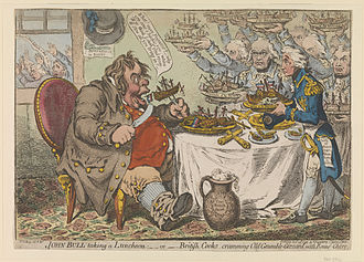 Vogon - The Vogons' appearance in the film was partially based on the cartoons of James Gillray.