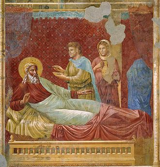 Isaac blessing his son, as painted by Giotto di Bondone Giotto di Bondone 080.jpg