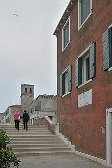 Giudecca Ponte San Eufemia Chiesa Santa Eufemia Venezia.jpg